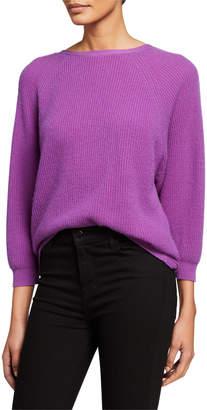 BA&SH Cramy Cashmere Twist-Back Sweater