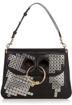 J.W.Anderson Pierce medium embellished leather shoulder bag