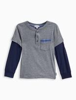 Splendid Little Boy 2Fer Jersey Long Sleeve Top