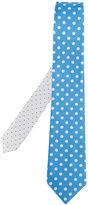 Canali polka dot tie - men - Silk - One Size