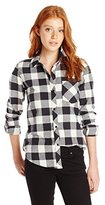 O'Neill Junior's Huntington Flannel Plaid Shirt