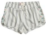 Roxy Girl's Eyes Storm Stripe Shorts