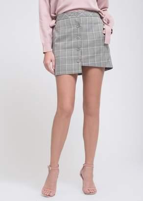 J.o.a. Button Up Mini Skirt