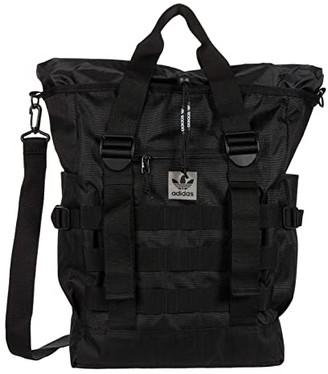 adidas Originals Utility Carryall Tote (Black) Handbags