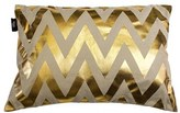 Kensie Metallic Chevron Pillow