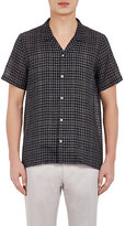 Paul Smith Men's Riviera Shirt-BLACK