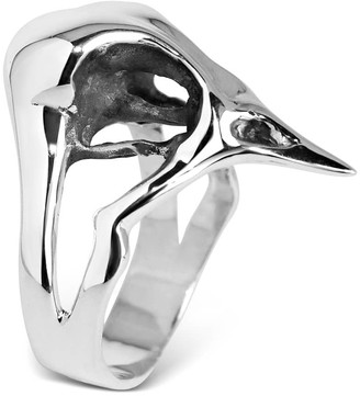 Hjälte Jewellery Small Bird Skull Ring