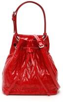Miu Miu Quilted Calfskin Bucket Bag