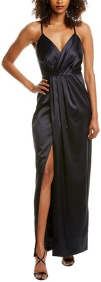 Laundry By Shelli Segal Satin Gown
