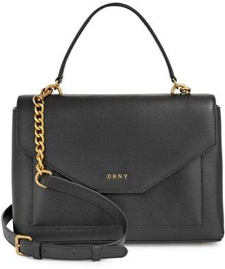 DKNY Medium Alexa Leather Satchel