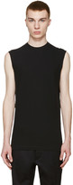 DSQUARED2 Black Long Twisted T-Shirt