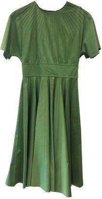 Diane von Furstenberg Green Cotton Dresses
