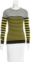 Jason Wu Striped Wool Top