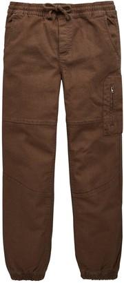 Very Boys Cuffed Cargo Trousers - Khaki