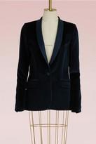Pallas Baldwin velvet jacket