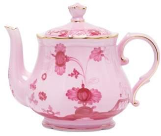 Richard Ginori Oriente Italiano Porcelain Tea Pot - Red Multi