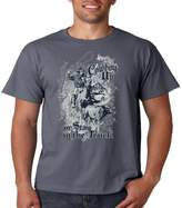 Juiceclouds | T Shirt Cowboy Up Or Stay In The Truck (Charcoal, 2XL)
