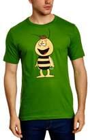 Logoshirt Men's Easy Fit Biene Maja - Willi Crew Neck Short Sleeve T-Shirt