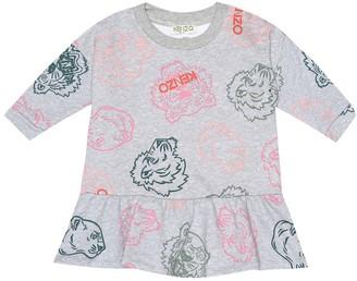 Kenzo Baby printed cotton dress