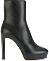Jimmy Choo Majesty boots - women - Leather/rubber - 35.5