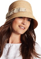 Flora Bella Claire Raffia Braid Cloche