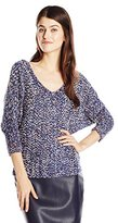 Jessica Simpson Women's Marigold Dolman Sleeve Sweater