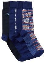 Tommy Bahama Deep Space Crew Socks - Pack of 4