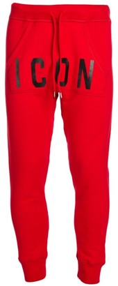 DSQUARED2 Icon Graphic Jogging Pants
