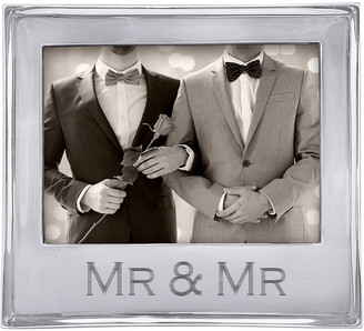 "Mariposa Mr. & Mr. Signature Statement Frame, 5"" x 7"""