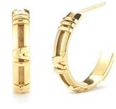 Tiffany & Co. 18K Yellow Gold ATLAS Numerical Hoop Earrings