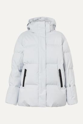 Bogner Fire & Ice Bogner BOGNER FIREICE - Vera Hooded Quilted Down Ski Jacket - Light gray