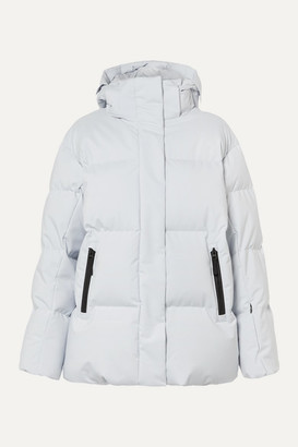 Bogner Fire & Ice BOGNER FIREICE - Vera Hooded Quilted Down Ski Jacket - Light gray