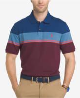 Izod Men's Advantage Stripe Performance UPF 15+ Polo