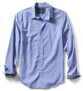 Banana Republic Grant-Fit Custom Wash Solid Shirt