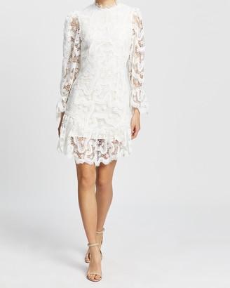 NEVER FULLY DRESSED Georgia Lace Mini Dress