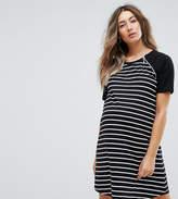 Asos Nursing Stripe Body Raglan Dress