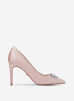 Dorothy Perkins Womens Showcase Blush 'Grazie' Court Shoes
