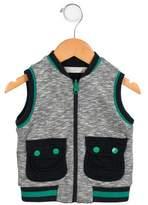 Stella McCartney Boys' Knit Zip-Up Vest