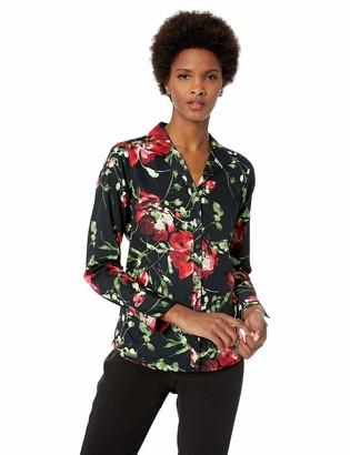 Foxcroft Women's Rhonda Floral Blouse