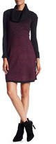 Maggy London Cowl Neck Sweater Dress