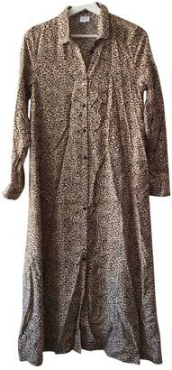 Karl Lagerfeld Paris Marc John Camel Dress for Women