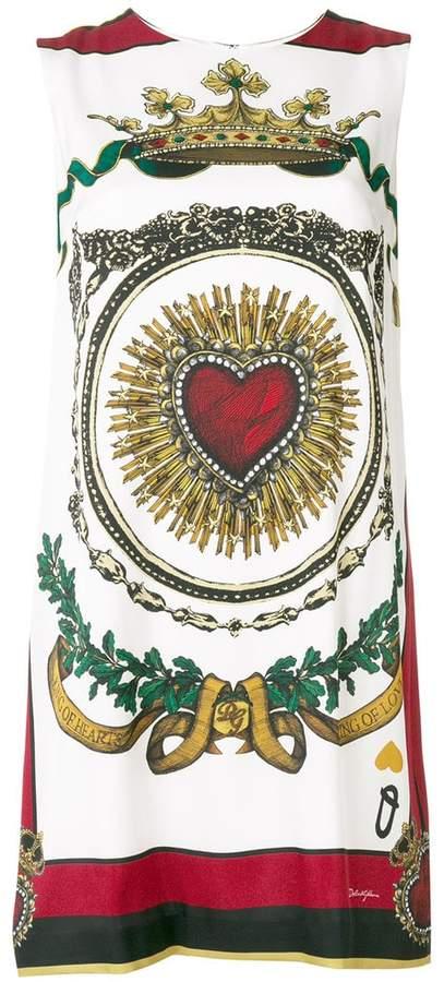 Dolce & Gabbana Sacred Heart mini dress