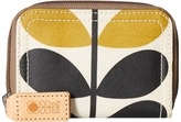Orla Kiely Stem Check Print Small Zip Wallet Wallet Handbags