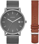 Skagen Men's Hagen Interchangeable Stainless Steel Bracelet with Interchangeable Strap Watch 40mm SKW1081