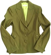 Laurèl Khaki Cotton Jacket for Women