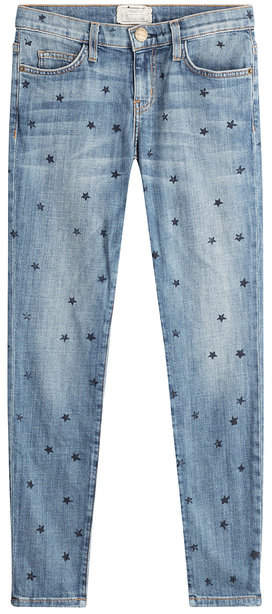 Current/Elliott Star Printed Skinny Jeans