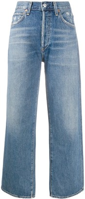 Citizens of Humanity Joanna high-rise cropped jeans