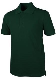 Real School Uniforms Real School Unisex School Uniform Short Sleeve Pique Polo Shirt, Sizes XS-XL