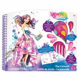 STYLE ME UP Splash Of Colour - Deluxe Sketchbook - The Catwalk