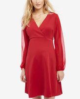 Taylor Maternity V-Neck Dress